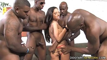 gangbang anal blonde couch Hooker picked up facial