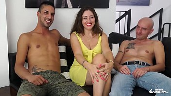 on tits surprise cum Milf fucking her sons teacher