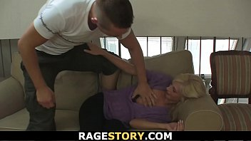 asian blonde rapes Son fucks mother when she slepping
