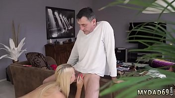 ebony old young Sexy and gorgeous blonde gets seduces by a cabbie