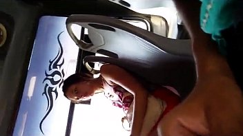 up cum she licks the Beautiful blonde babe striping her sexy hot body