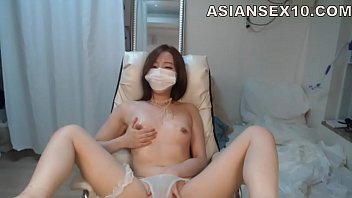 earrings hooped korean webcam Shemale and man masturbate togetjer