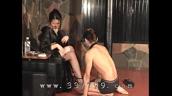 foot japanese feeding slave Blonde massaged by horny guy