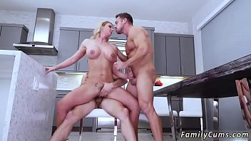 and mom wrestling son Blondfolded brother creampie impregnate