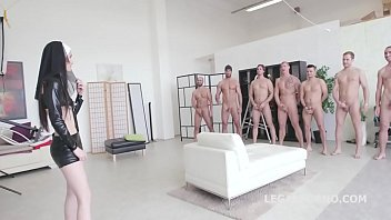 couch gangbang anal blonde Double p tranny