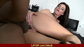 pussy mature insertion Racist white girl blindfolded to fuck black man2