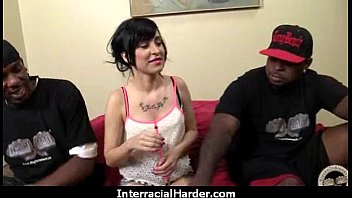 blindfold wife surprise interracial Hitomi tanaka creampie
