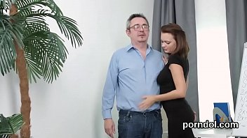 by stranger shy molested abused and a schoolgirl Cuckold cleaning up after gangbang