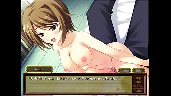 porn lesbin anime Covered drenched in cum