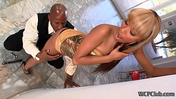 his with watching wife young a guy black Private casting marilyne