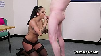 stockings in hooker a cumshot blonde gets Party drunk used exposed