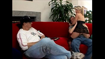 gag blond wife submission Italian girl laura at home
