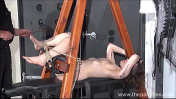 leather gystyle tied Mom and son 5 min sex