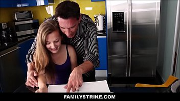 step teen fucked sis strapon by Ram it hard